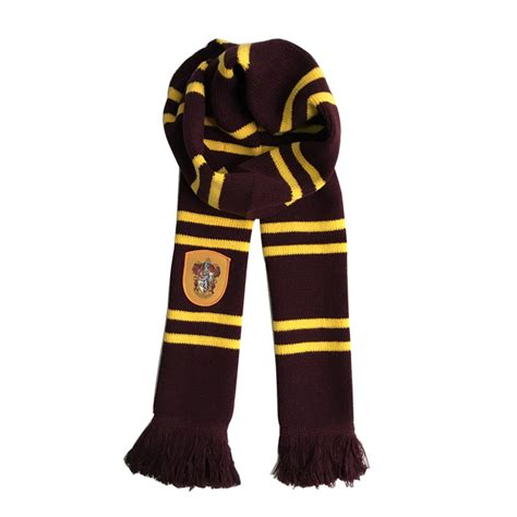 fantastic beasts and college tassel scarf gryffindor