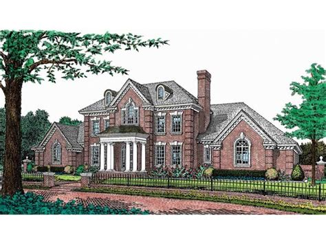 federal style home plans