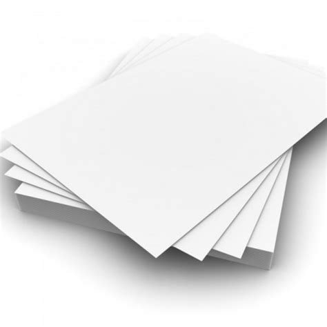 Card Paper - card a4 white 50s