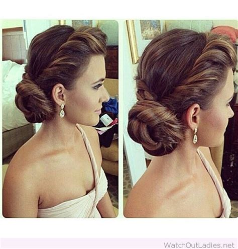 hairstyles side buns best 20 wedding side buns ideas on