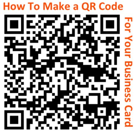 how to make a trackable qr code for your business card and other marketing collateral right