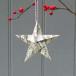 25 paper christmas ornaments ideas inspiration
