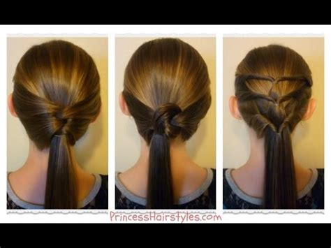 hairstyles you can do at home youtube 3 quick and easy ponytails back to school hairstyles