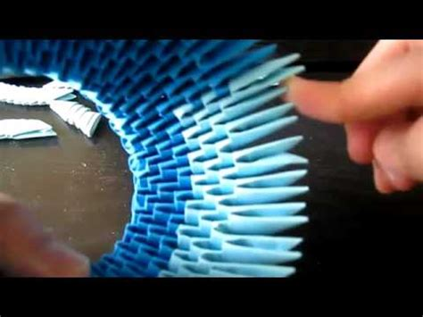 3d origami stitch tutorial how to 3d origami stitch tutorial part 1 youtube