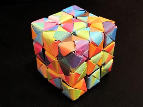 Origami Rubik Cube - origami rubik cube anyone s crafts