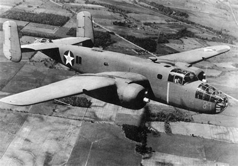 Mk 25a b 25 mitchell the bomber used on the doolittle raid