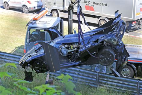 koenigsegg crash update koenigsegg one 1 destroyed in nurburgring crash