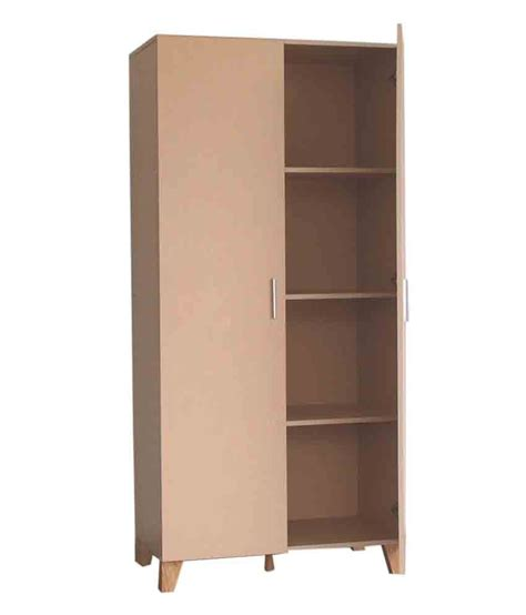Wardrobe With Shelves by Furn Aspire 2 Door Wardrobe With 4 Shelves Buy At