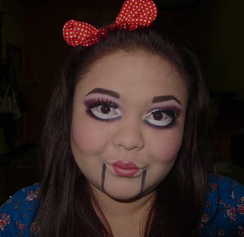 halloween makeup collaboration creepy ventriloquists