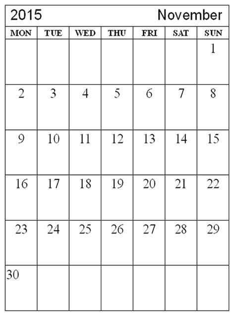 Printable Calendar November 2013