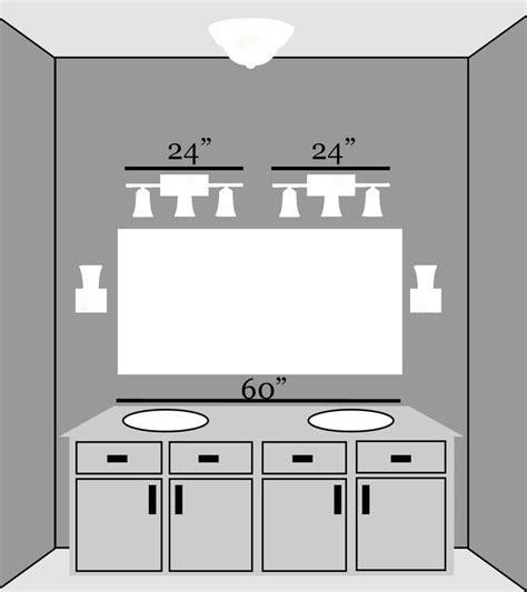bathroom lighting guidelines best 25 bathroom lights over mirror ideas on pinterest