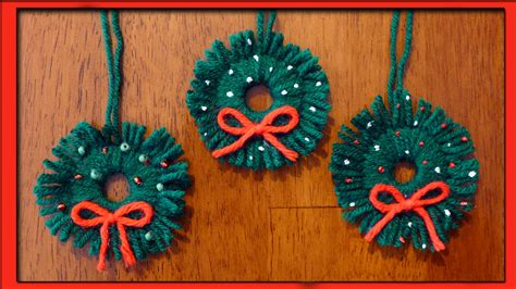 Easy Handmade Decorations - easy ornaments