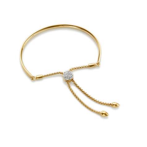 vinader fiji toggle bracelet in metallic lyst