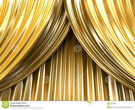rideau en th 233 226 tre d or photos libres de droits image