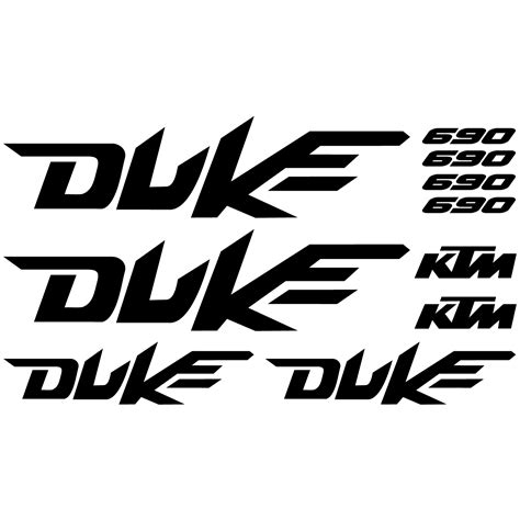 Decal Aufkleber by Wallstickers Folies Ktm 690 Duke Decal Stickers Kit