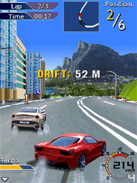 game java gameloft mod gameloft racing java game 320x240 240x400 touch screen
