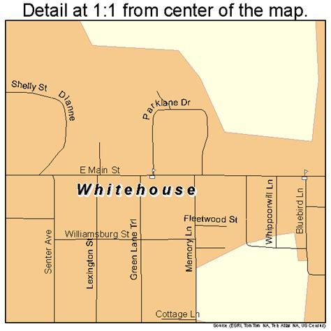 white house texas whitehouse texas street map 4878388