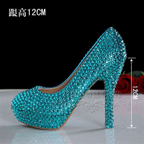 elsa high heels sh111 height 12cm rhinestone elsa shoes high heel 39 43
