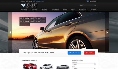 auto dealer template new business catalyst template auto dealer