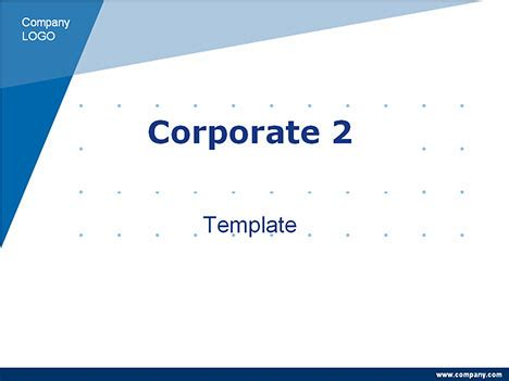 Corporate Powerpoint Template 2 Simple Business Template Powerpoint