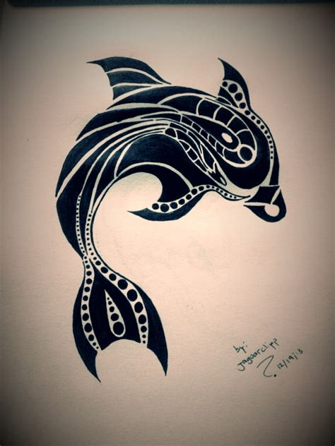 tribal dolphin tattoos designs tribal dolphin pictures to pin on
