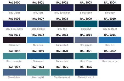 Nuances De Bleus by Nuancier Bleu Ral Colours En 2018 Pantone