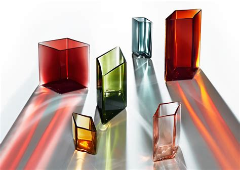 Cool Glassware ruutu vases by ronan and erwan bouroullec for iittala