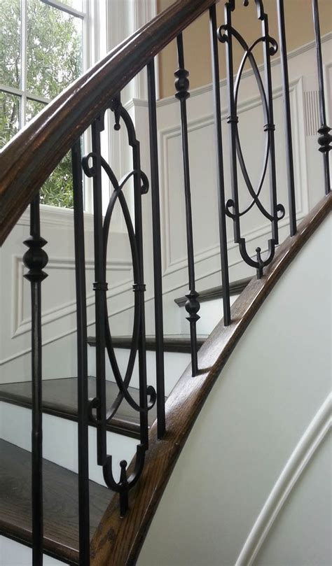 Metal Banisters by 25 Best Ideas About Metal Balusters On Rod Iron Railing Metal Stair Spindles And
