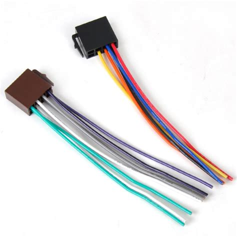 new universal iso wire harness adapter connector