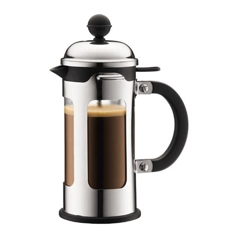 CHAMBORD   French Press coffee maker, 3 cup, 0.35 l, 12 oz, s/s Shiny   Bodum Online Shop