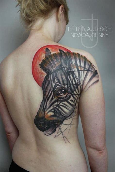 zebra pattern tattoo zebra tattoos design ideas pictures gallery