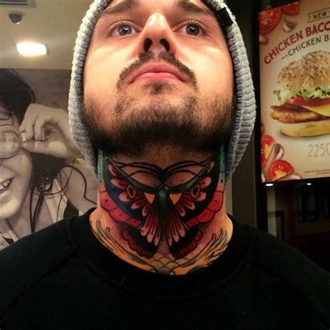butterfly tattoo throat butterfly tattoos best tattoo ideas gallery