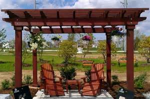 Wood Pergola by Top Wood Pergola Kits Diy Pergola Kits