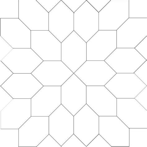 drawing with pattern blocks line drawing for lucy boston elongated hexagon block