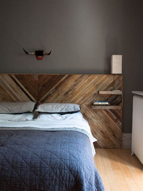 reclaimed wood headboard diy bedroom in buffalo ny with diy headboard from reclaimed wood decoration for house