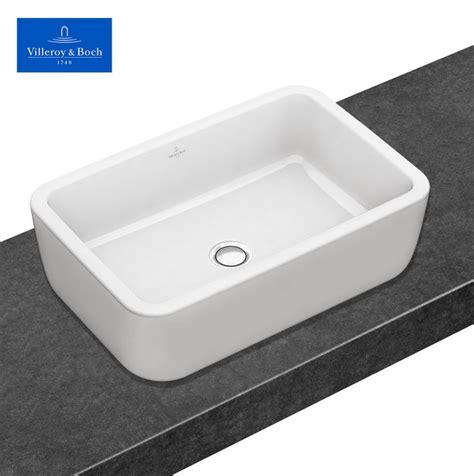 bidet eckig v b architectura rectangle surface mounted washbasin uk
