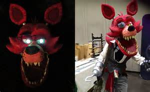 Terrifying five nights at freddy s foxy the pirate cosplay