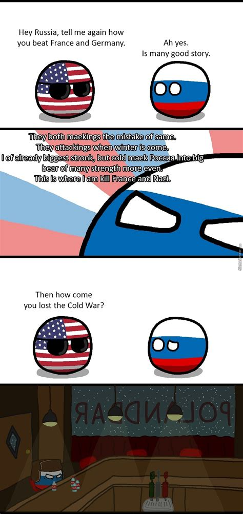 Countryball Meme - russian winter by bloatarder meme center