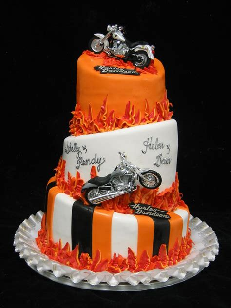 29 best images about theme harley davidson on groom cake birthday cakes and