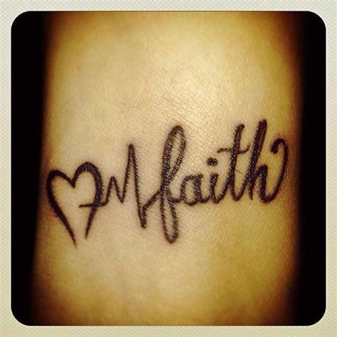 heart monitor tattoo faith monitor wrist ink