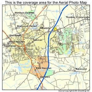 newnan map aerial photography map of newnan ga