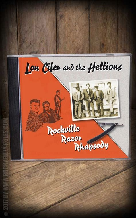 Pomade Razor set cd schmiere lou cifer rockville razor rhapsody