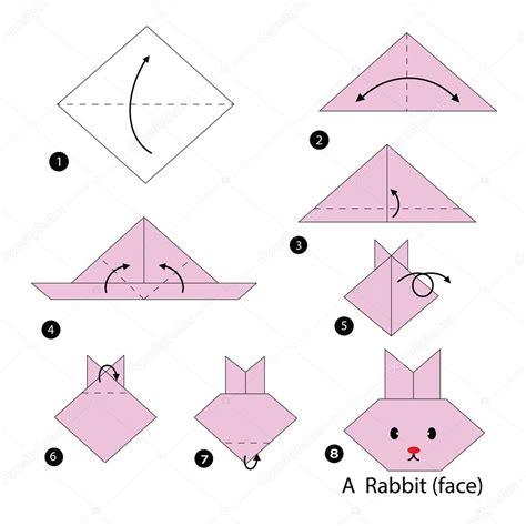 How To Make A Paper L For - krok za krokem n 225 vod jak udä lat origami kr 225 l 237 k â stock