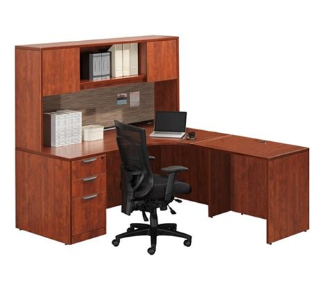 ndi office furniture ndi office furniture classic series l shaped desk w hutch