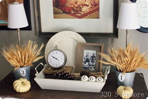 table top home decor 10 inspirational autumn displays from around the web