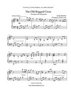 the rugged cross violin sheet free sheet bernard george the rugged cross