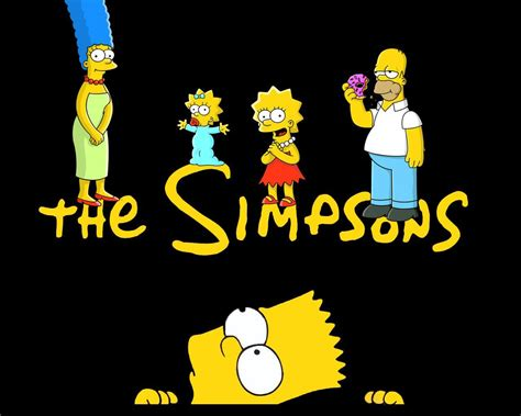 the simpsons background the simpsons wallpapers wallpaper cave