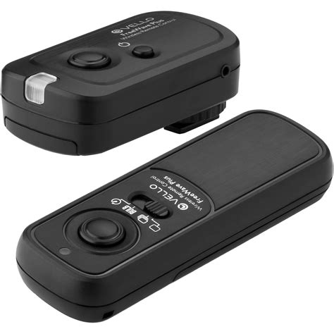 vello freewave plus wireless remote shutter release rwii