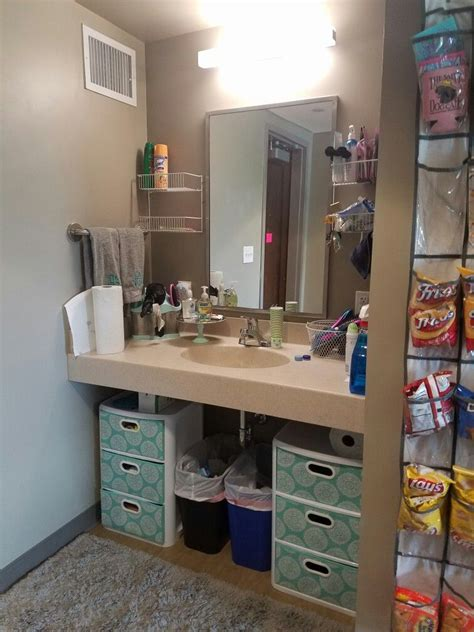 apartment bathroom storage ideas usc patterson college and college