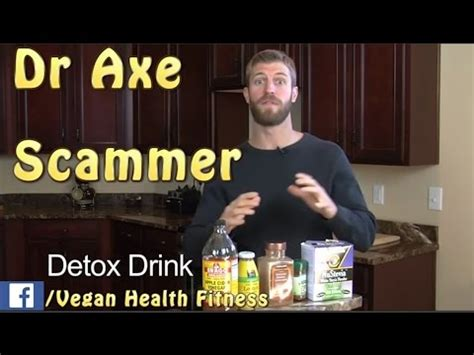 Dr Axe Detox Drink How Often by Dr Axe The Detox Drink Scam